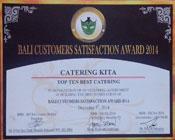 Catering Bali Award