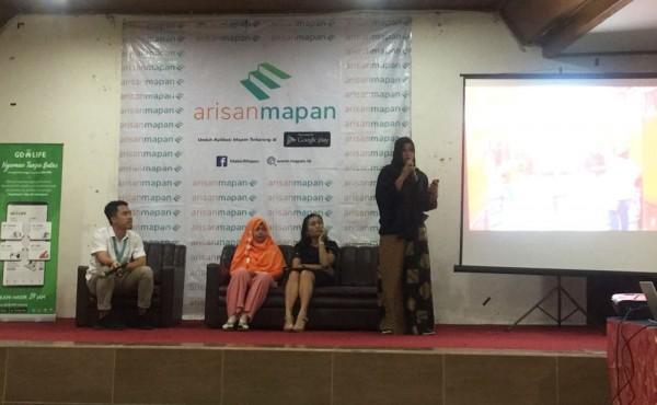 Sharing Wirausaha Arisan Mapan