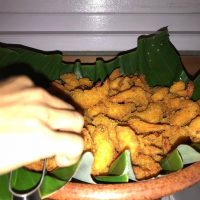Udang crispy untuk Catering Pernikahan di Bali