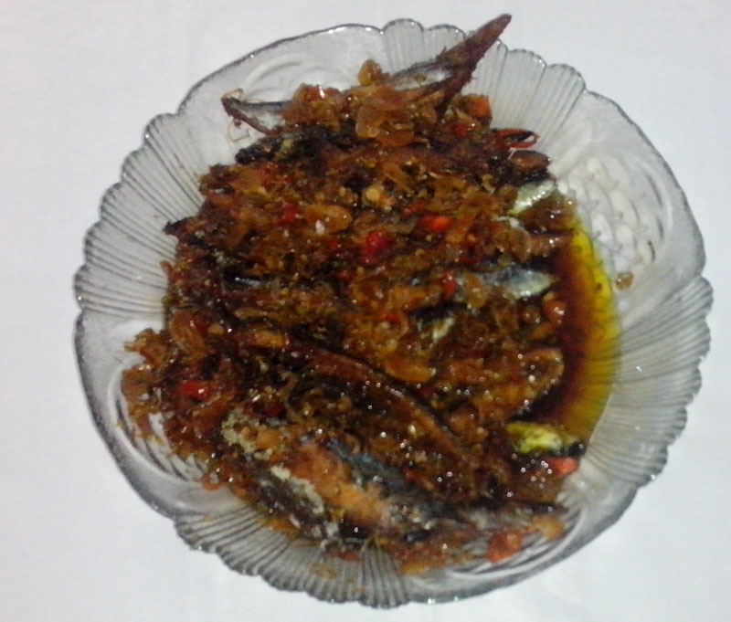Tumis Tongkol