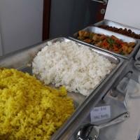 nasi putih dan nasi kuning