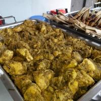Ayam panggang bumbu betutu Bali