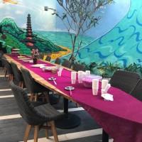 Meja Expedia Bali Buka Puasa Bersama