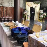 Meja terima undangan di Catering Pernikahan di Denpasar